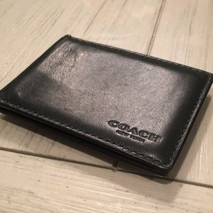 COACH ID and credit card holder